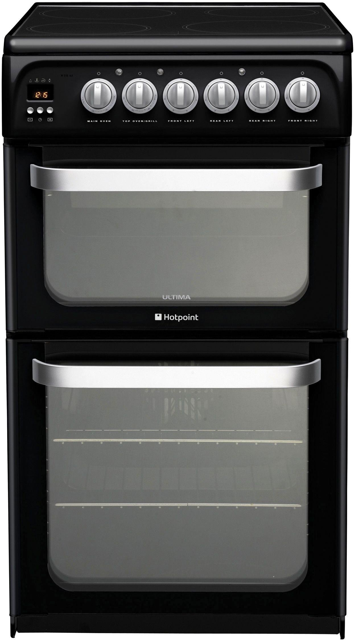 hotpoint-hue52ks-double-electric-cooker-black