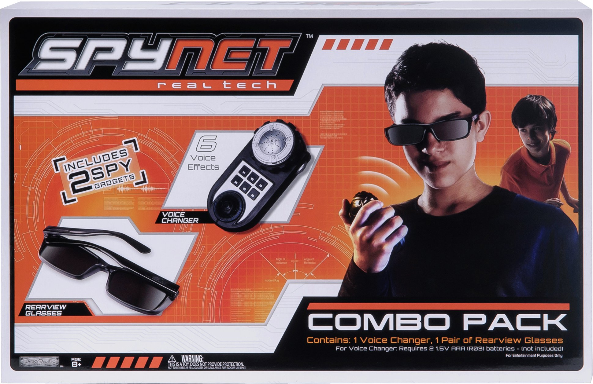SpyNet Voice Changer and Rear View Glasses