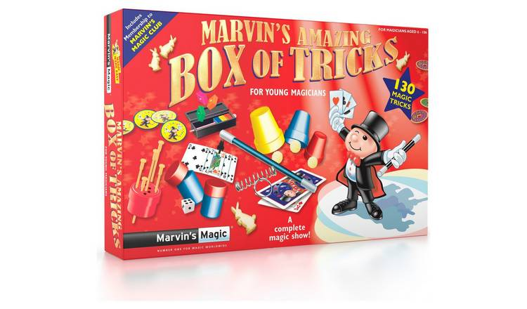 Marvin's Magic 130 Magic Made Easy Tricks by Argos