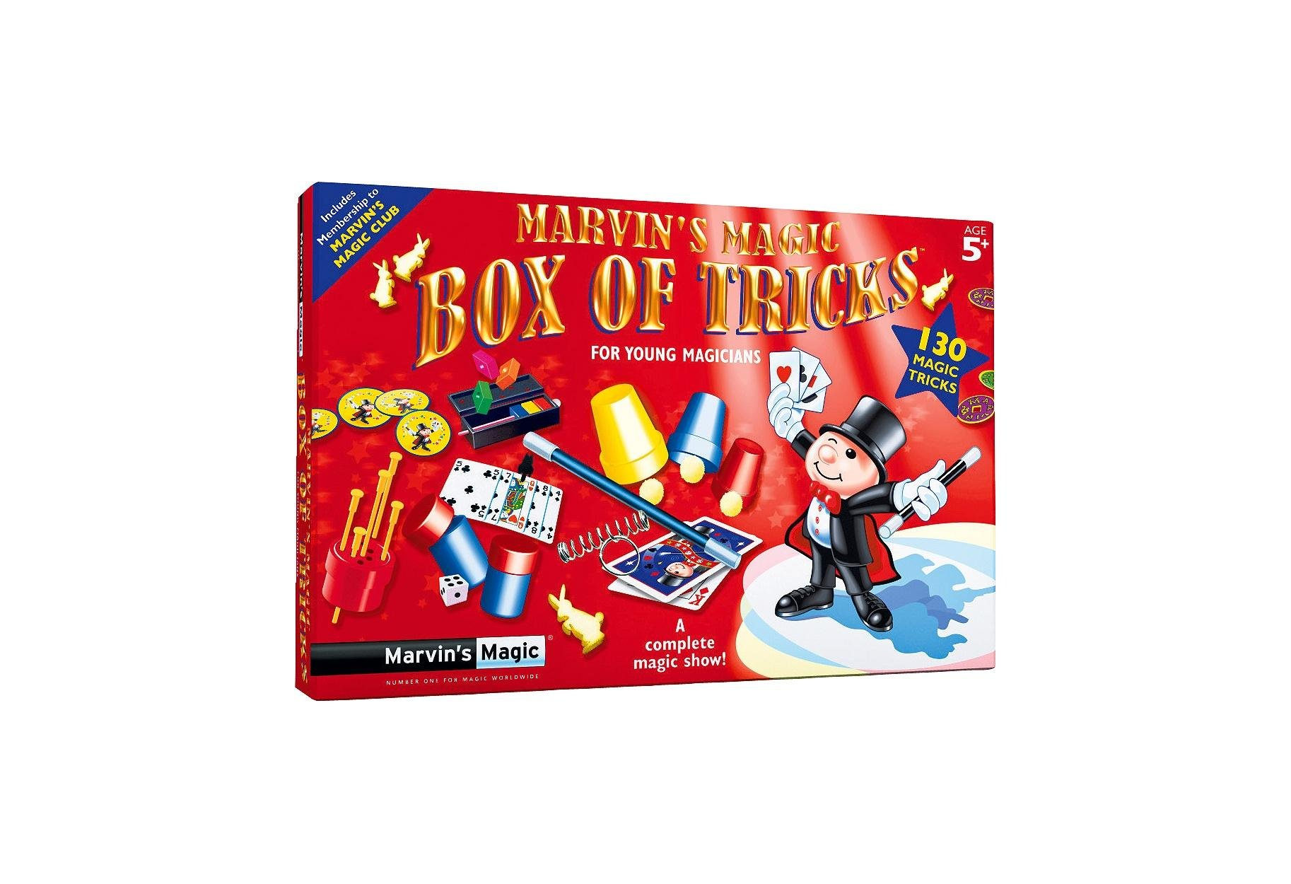 Marvin's Magic 130 Magic Made Easy Tricks