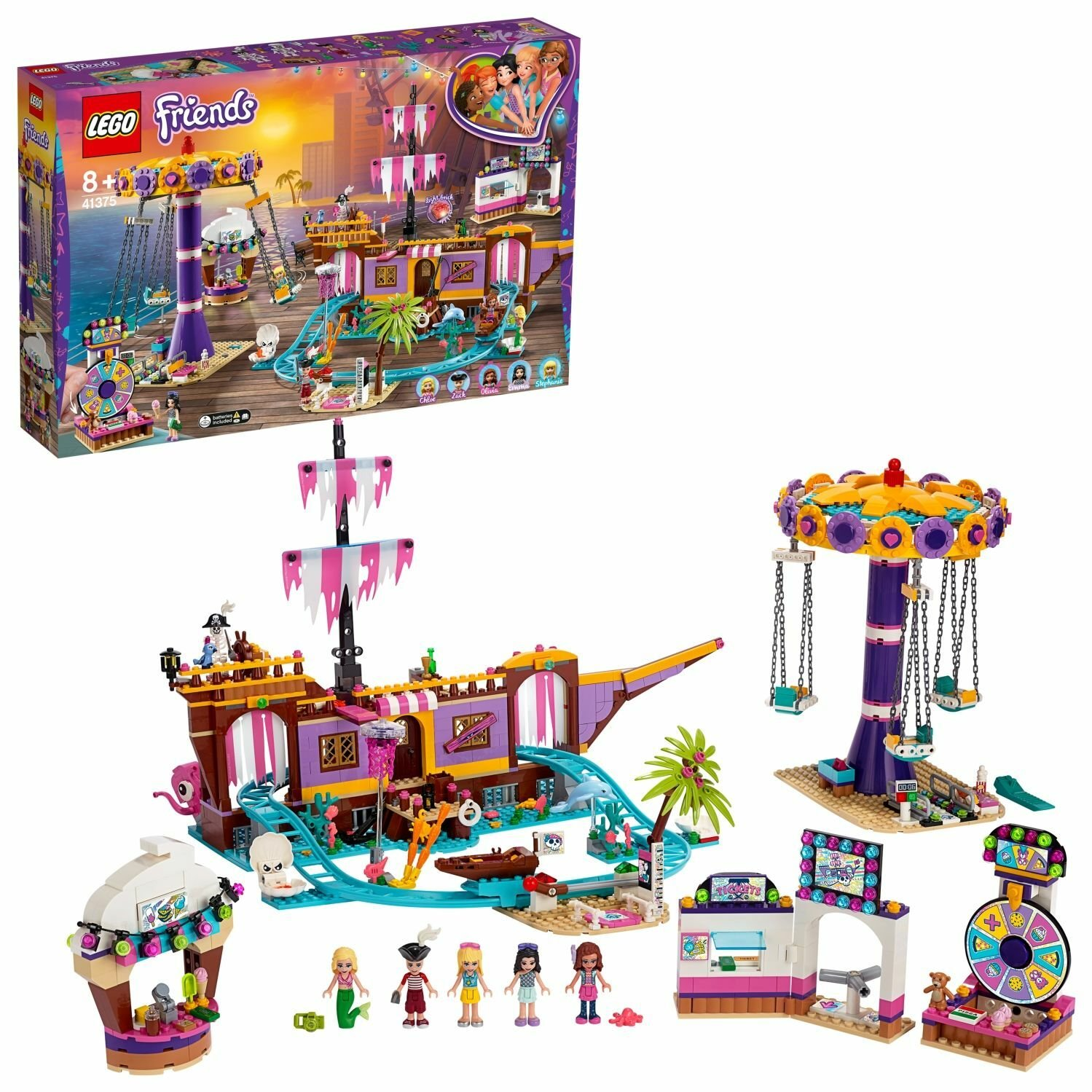 LEGO Friends Heartlake City Pier Playset - 41375
