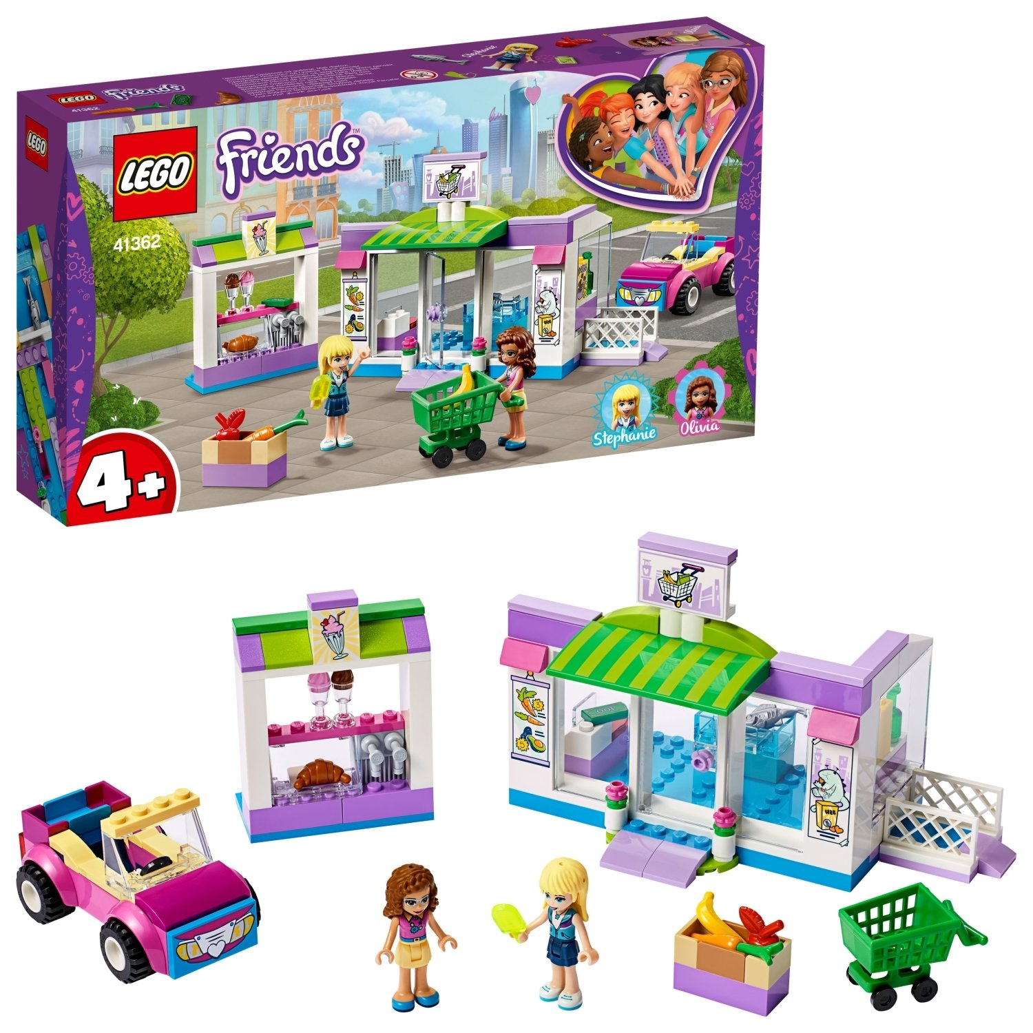 LEGO Friends Heartlake City Market Playset - 41362