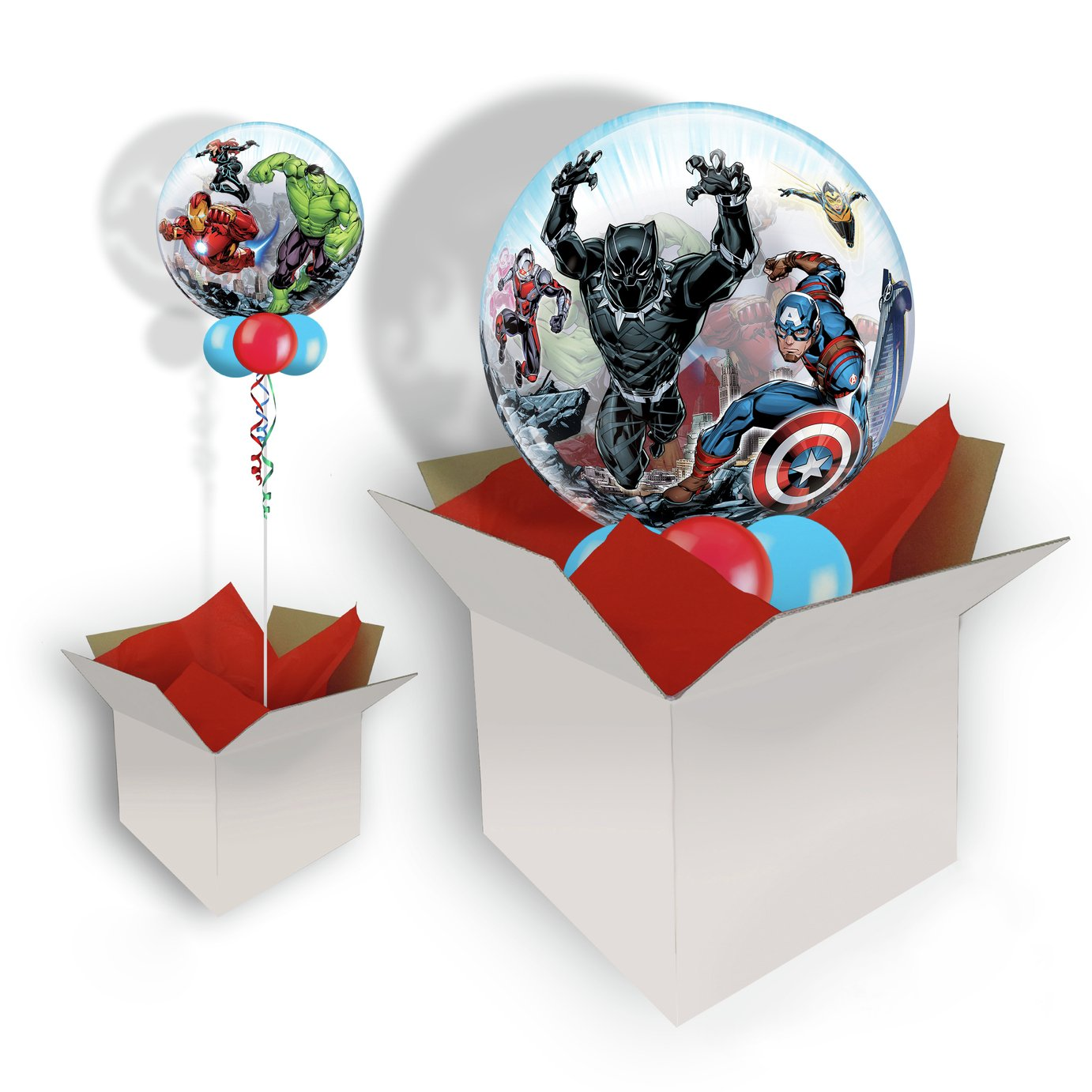 Marvel Avengers Bubble Balloon In A Box