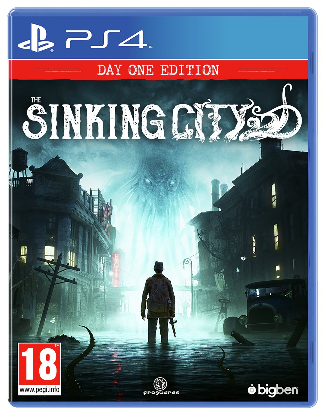 The Sinking City PS4 Game
