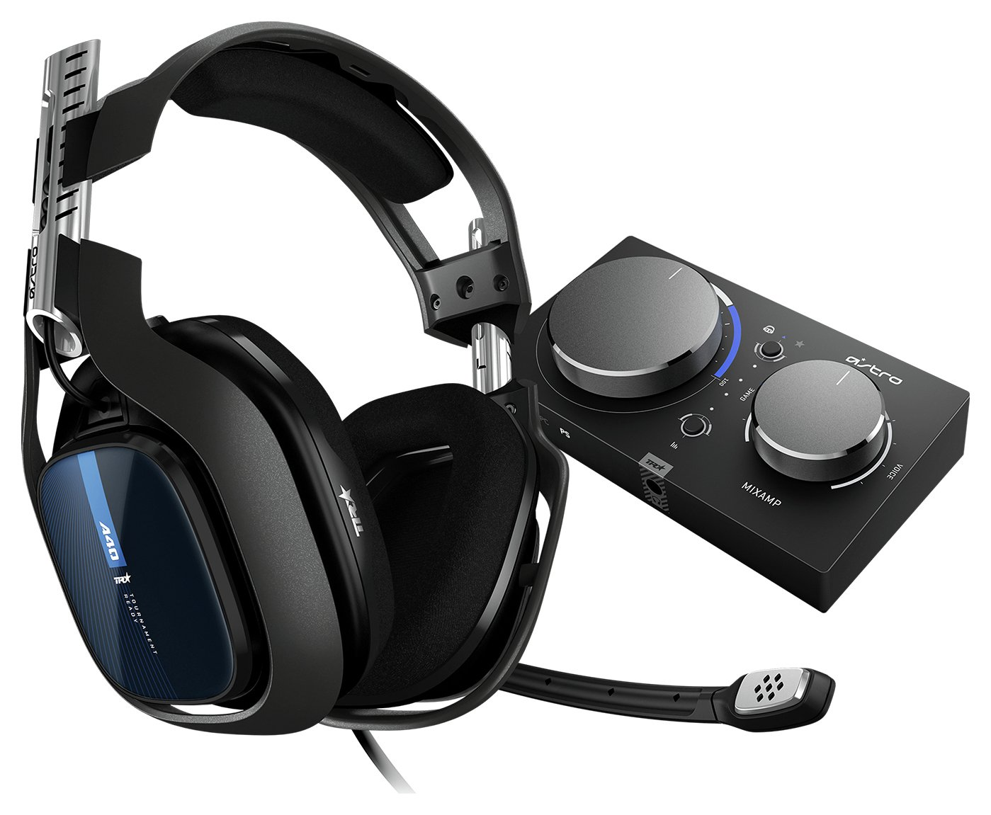 Astro A40 TR PS4, PC Headset & MixAmp Pro