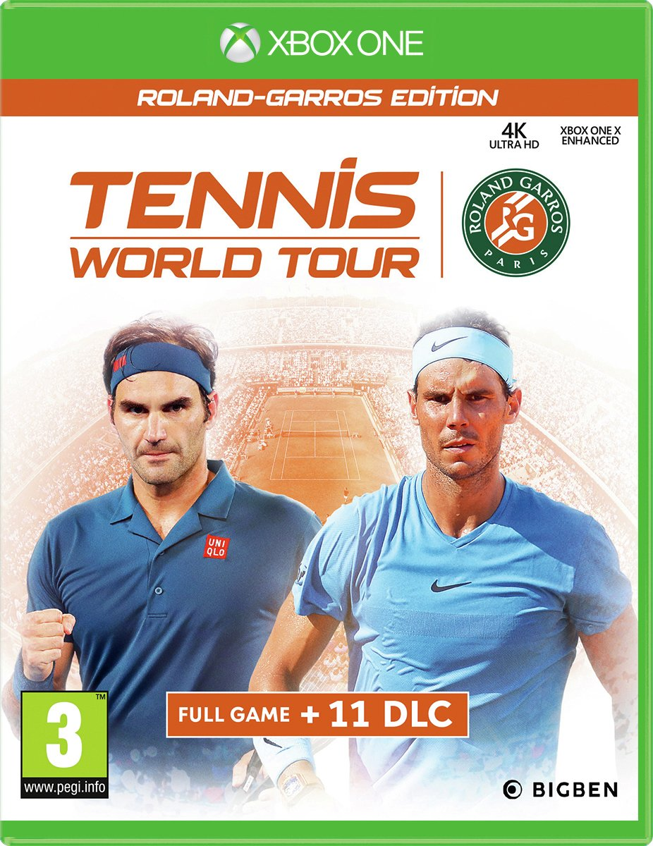Tennis World Tour: Roland Garros Edition Xbox One Game