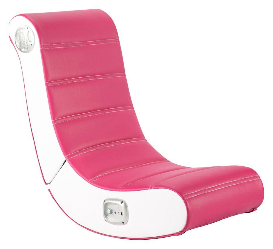 X-Rocker Play Gaming Chair - Pink
