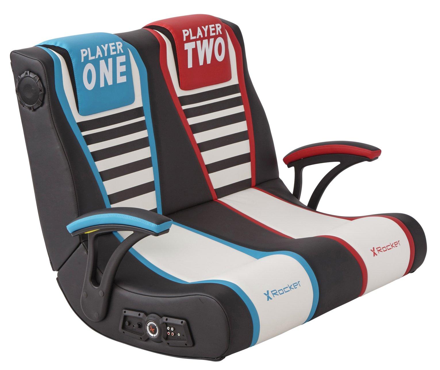 X-Rocker Dual Rivals 2 Seater Gaming Chair