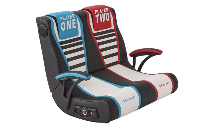 X-Rocker Dual Rivals 2 Seater Gaming Chair