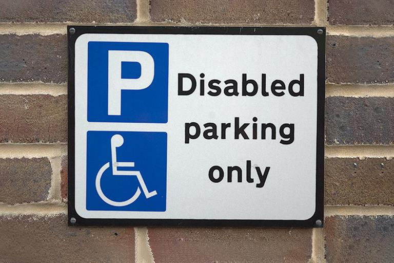 Blue badge scheme.