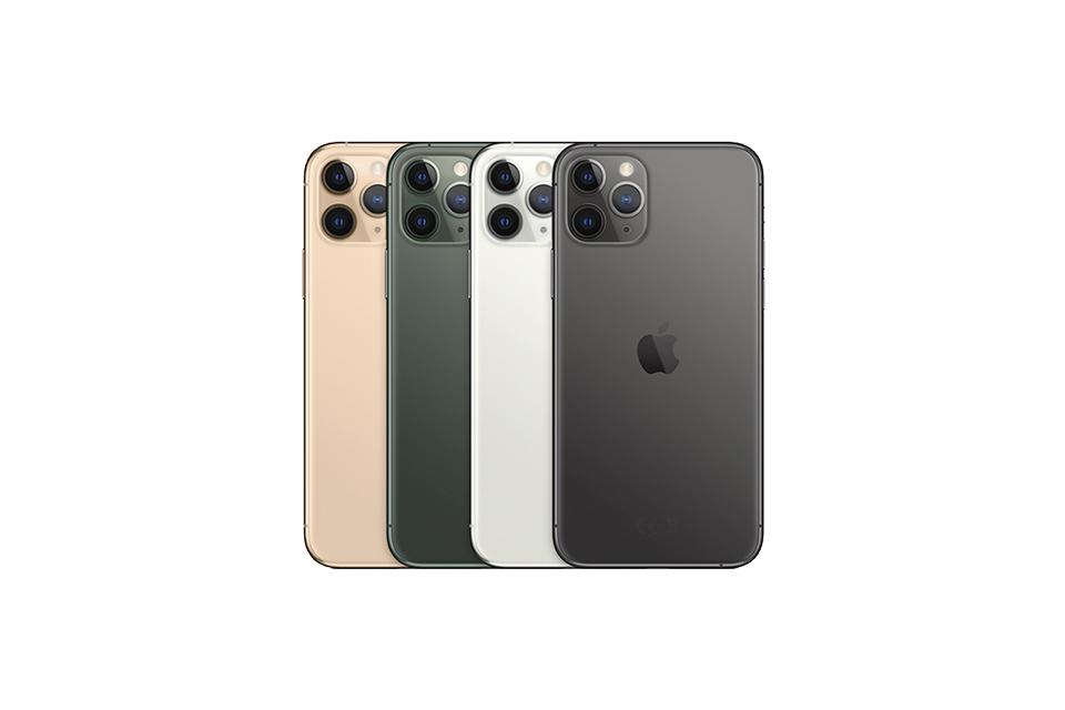 iPhone 11 Pro. With all new triple-camera system.