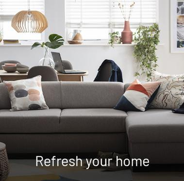 Get inspired. The perfect time to refresh your home.