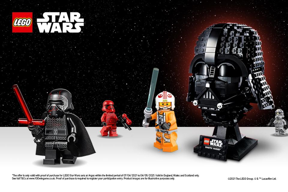 Everybody wins! When you purchase any LEGO® Star Wars™ set