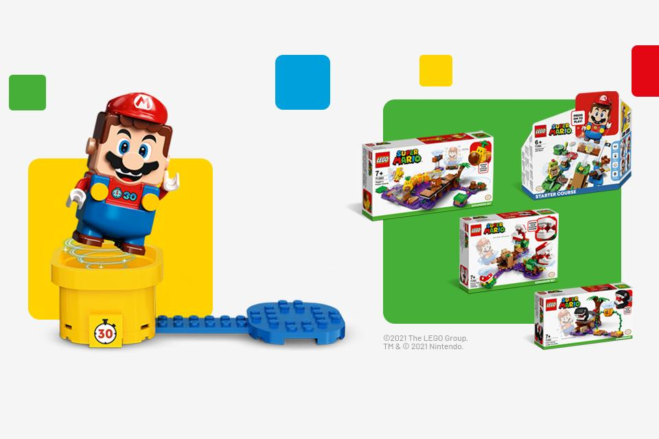 Save up to 25% on LEGO® Super Mario.