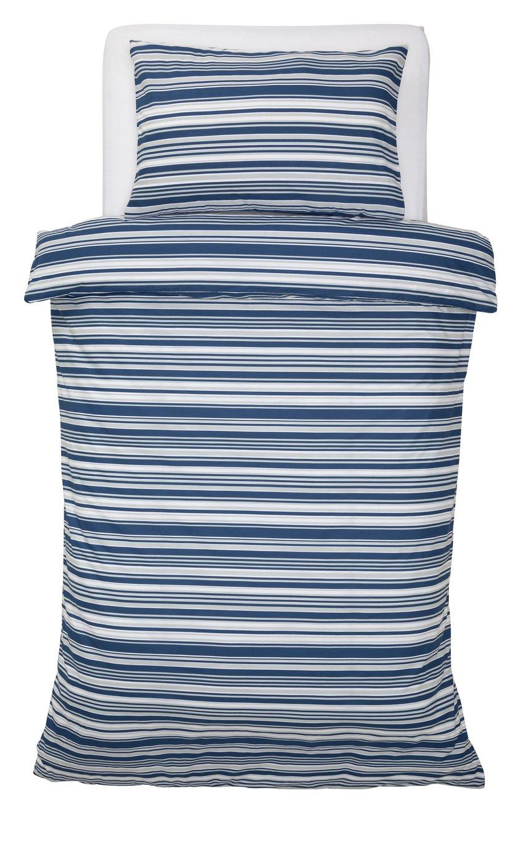 Argos Home Stripe Print Bedding Set - Single