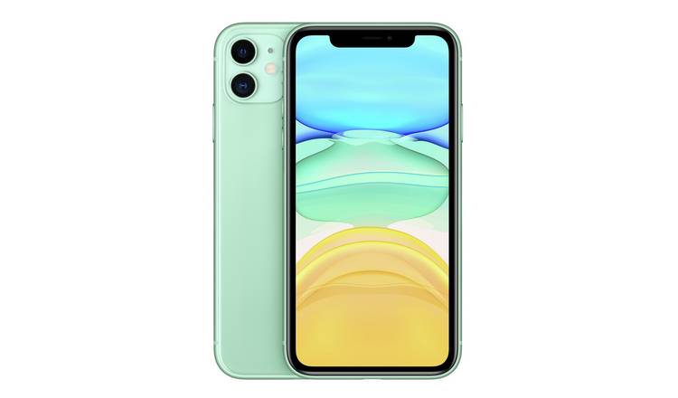 SIM Free iPhone 11 64GB Mobile Phone  - Green