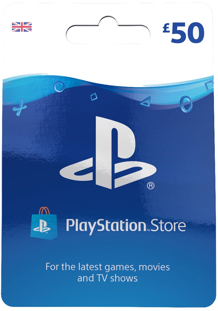 ??50 PlayStation Store Gift Card