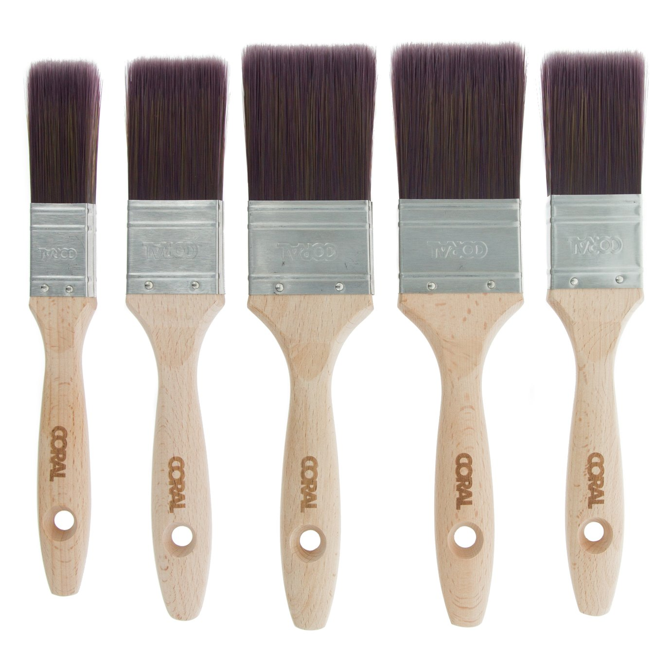 Coral Aspire Paint Brush - Set of 5