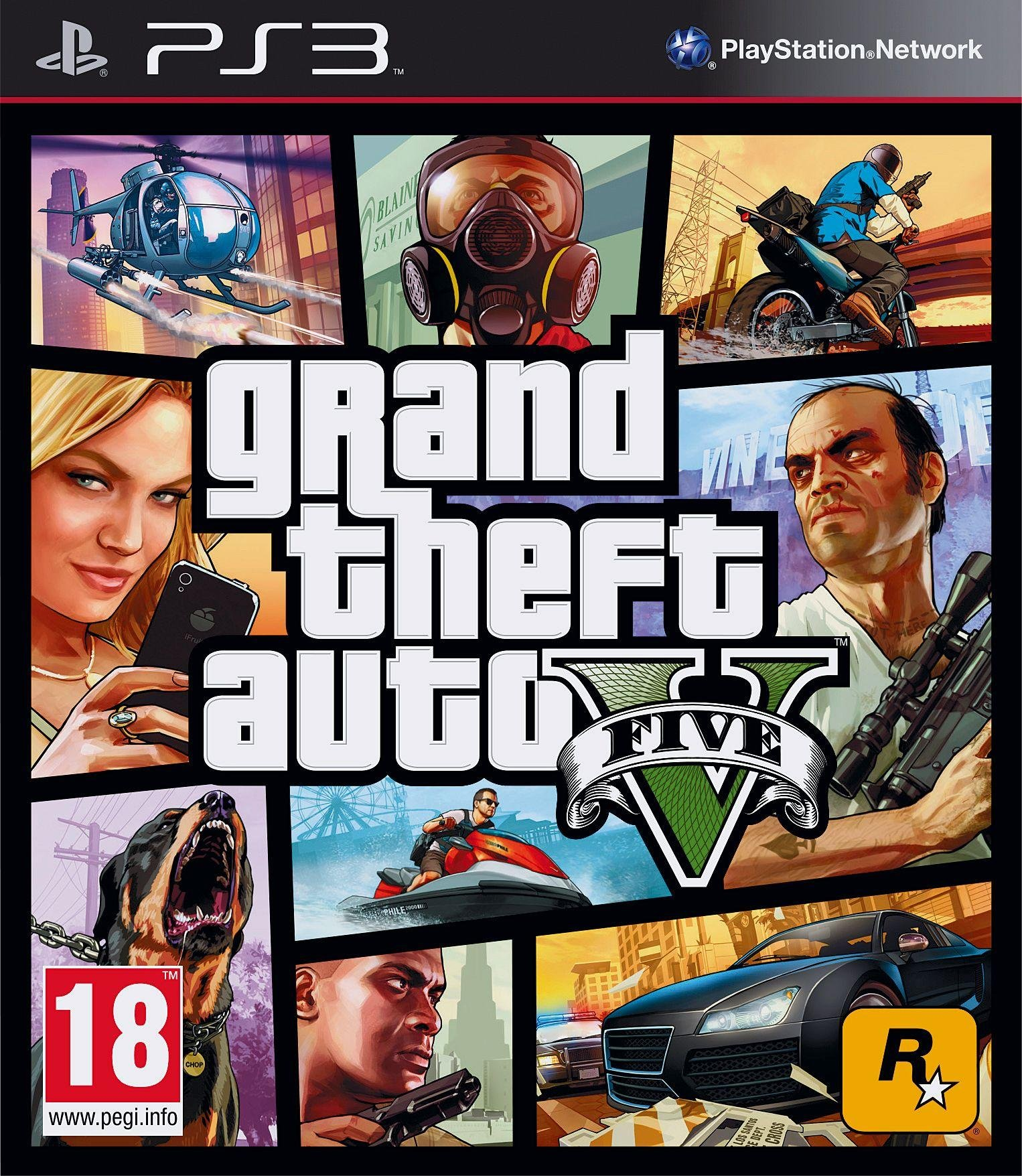 Image of Grand Theft Auto V PS3 Game