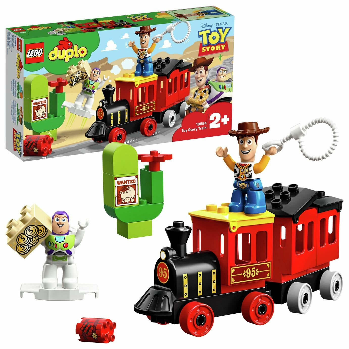 LEGO DUPLO Toy Story Train Building Set - 10894