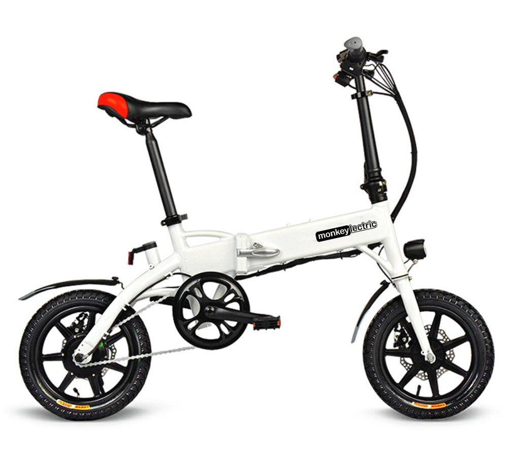 Monkeylectric M17 7.8Ah 14 inch Wheel Size Electric Bike