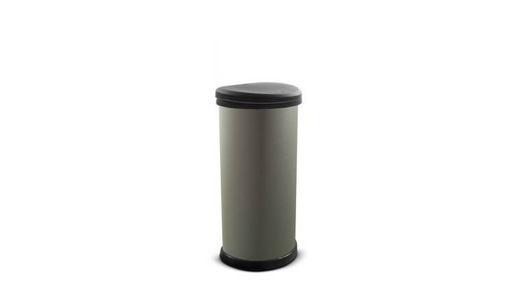 Curver 40 Litre Deco Touch Top Kitchen Bin - Graphite