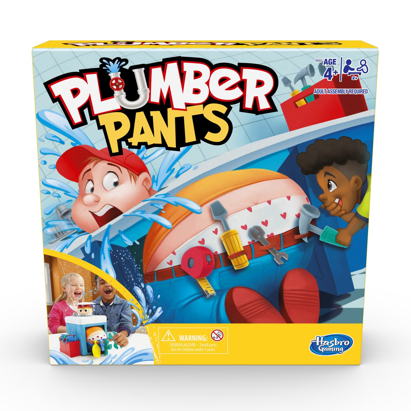 Plumber Pants Game from Hasbro Gaming