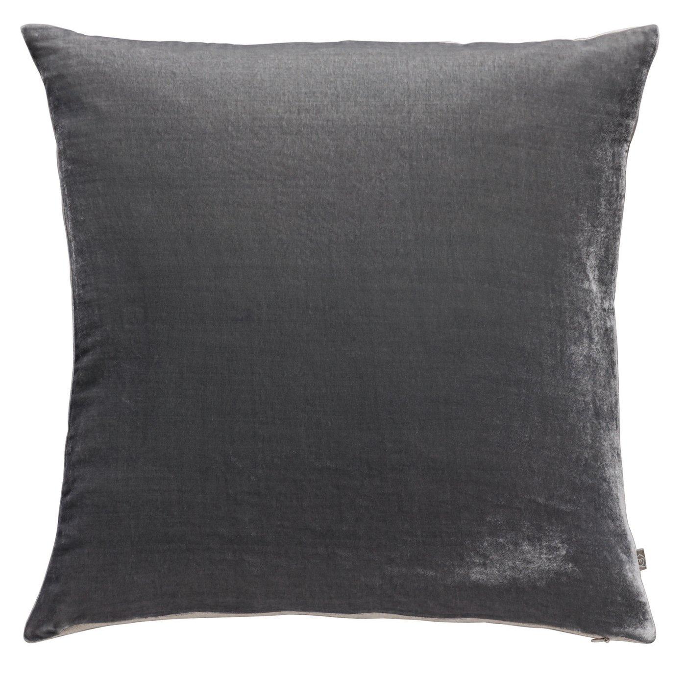 Argos Home Regency Velvet Cushion - Grey