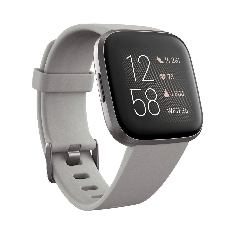 Fitbit Versa 2 Smart Watch - Grey Alu / Stone Band