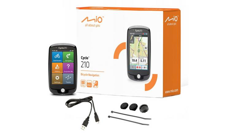 Mio Cyclo 210 Bike Navigation Computer