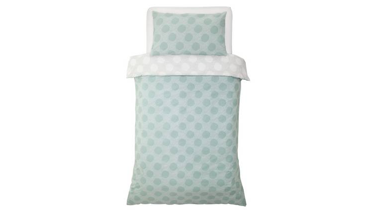 Argos Home Spot Print Bedding Set - Single