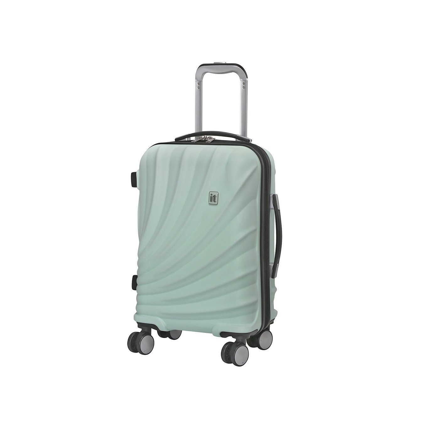 it Luggage Pagoda Expandable 8 Wheel Cabin Suitcase - Pastel