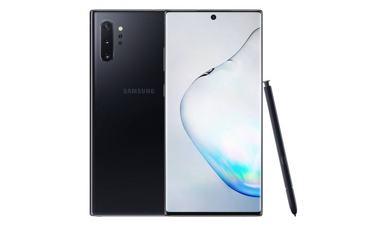 SIM Free Samsung Galaxy Note10+ 256GB Mobile Phone – Black