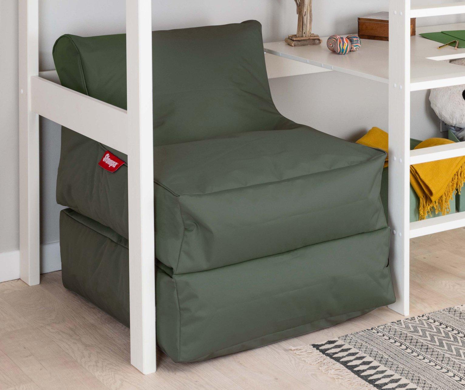 Stompa XL Flexi Sleep Lounger Beanbag - Khaki
