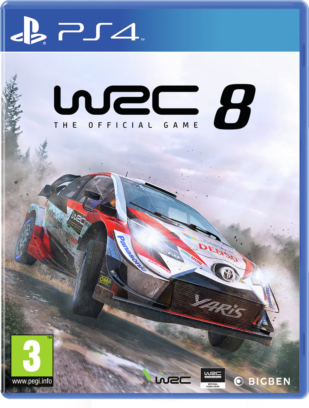 WRC 8 PS4 Pre-Order Game