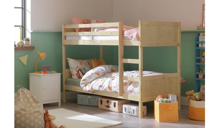 Argos Home Detachable Bunk Bed Frame - Pine 0