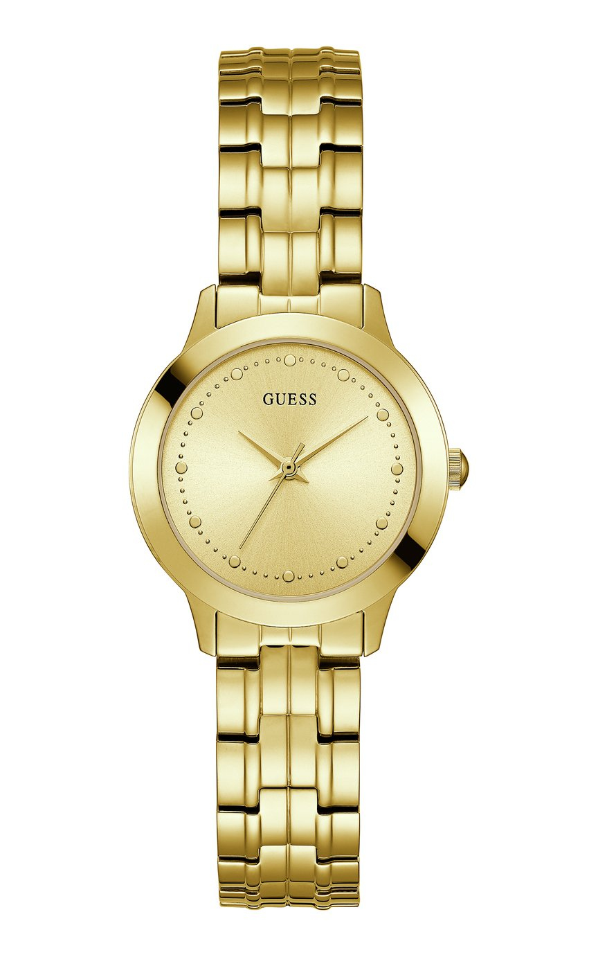 Guess Ladies Chelsea Gold Plated Bracelet Watch