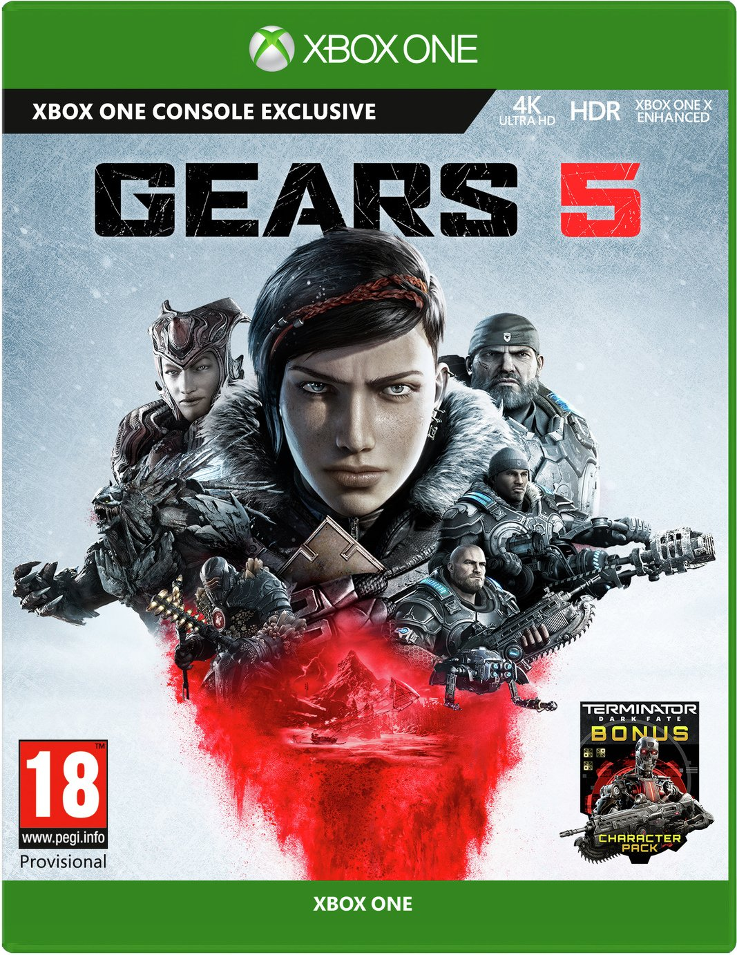 Gears 5 Xbox One Pre-Order Game