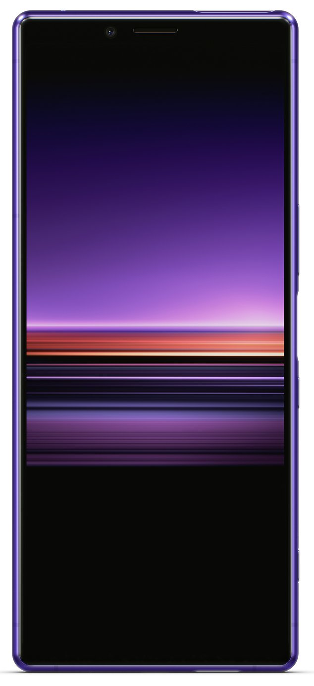 SIM Free Sony Xperia 1 128GB Mobile Phone - Purple