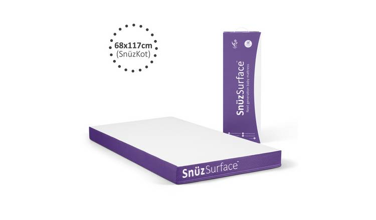 SnuzSurface 117 x 68cm Pocket Sprung Cot Bed Mattress
