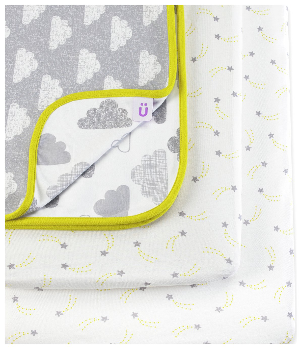Snüz Designz Bedside Crib Bedding Set - Cloud