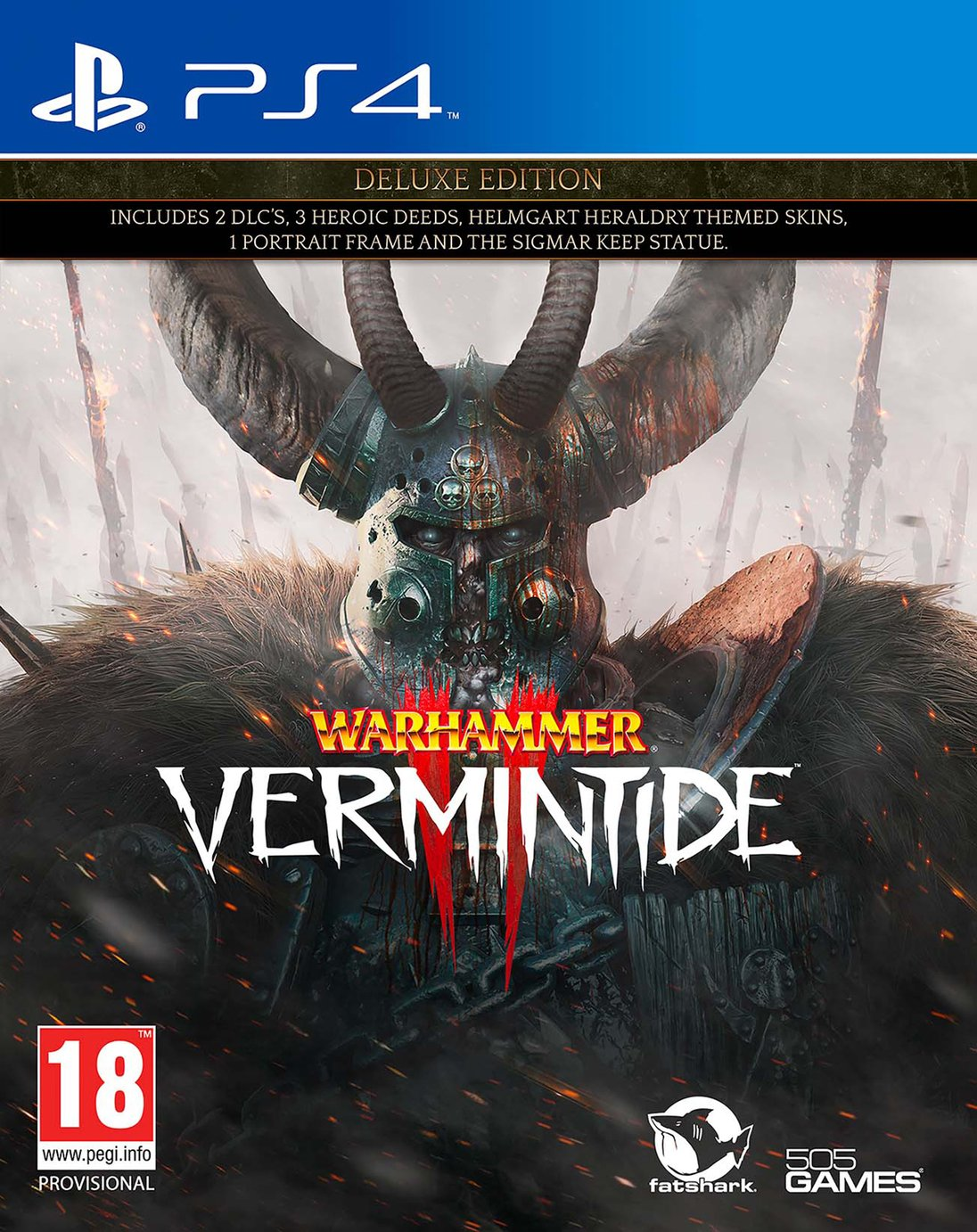 Warhammer: Vermintide 2 Deluxe Edition PS4 Game