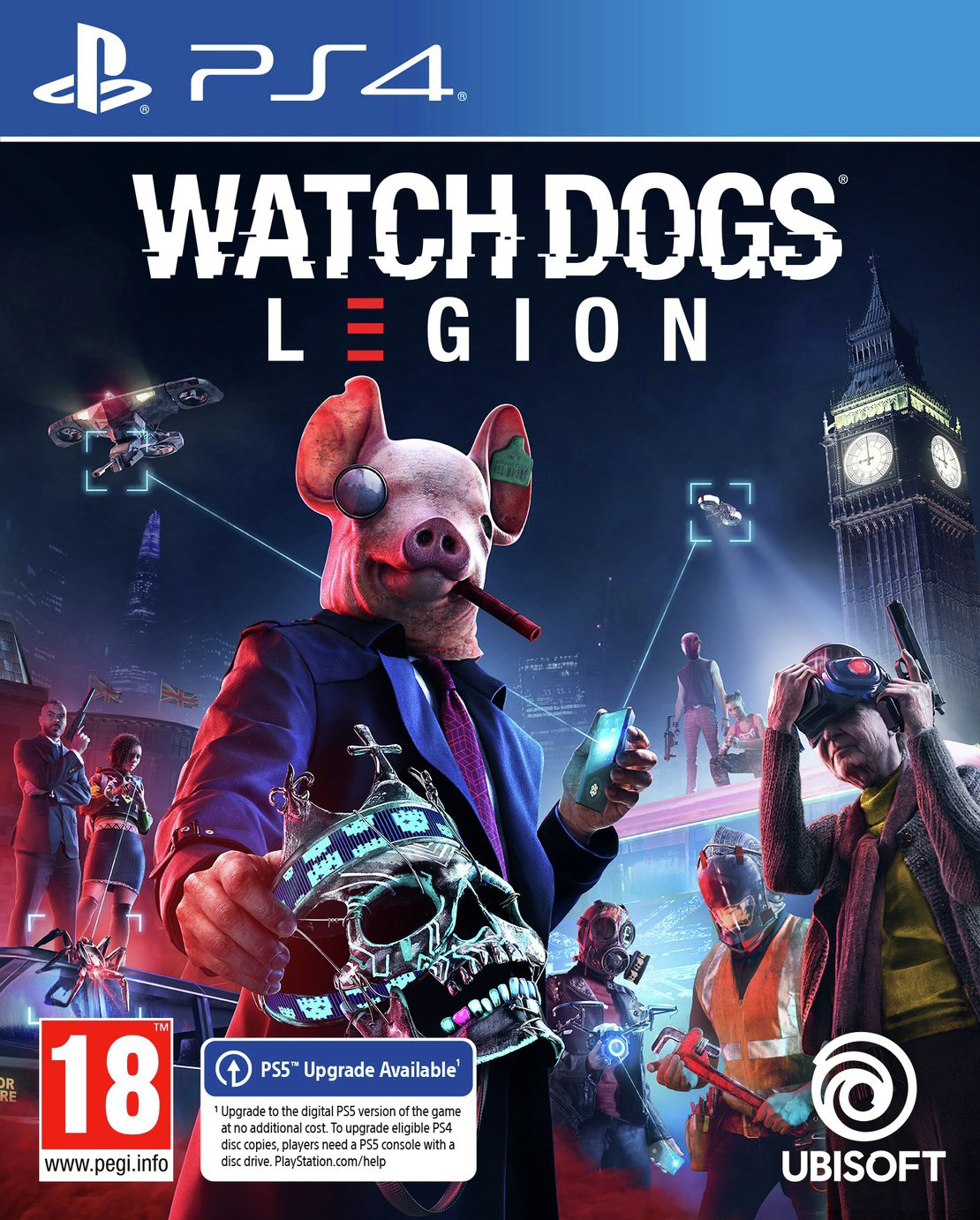 Watch Dogs Legion PS4 Pre-Order Game