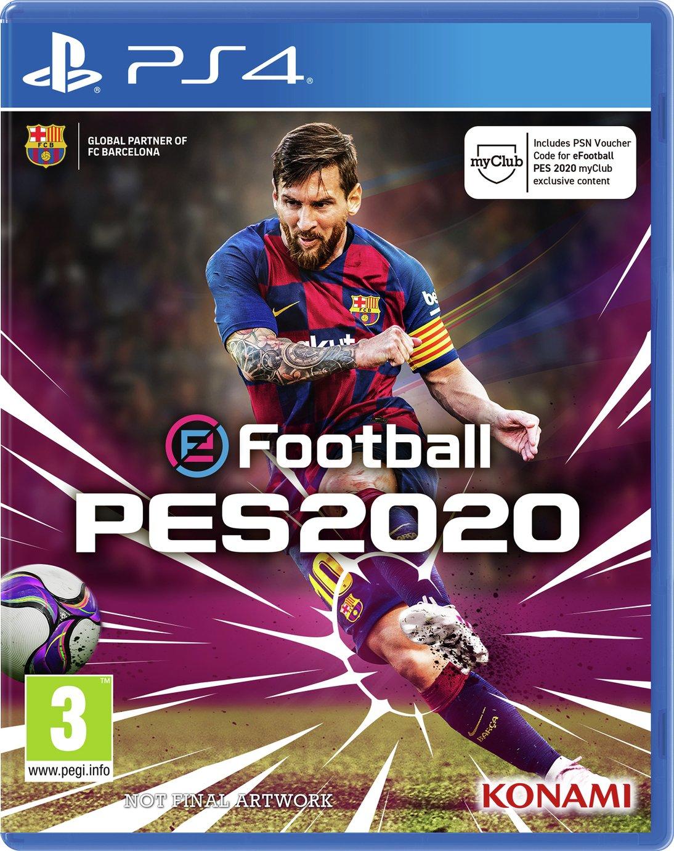 PES 2020: Pro Evolution Soccer PS4 Pre-Order Game