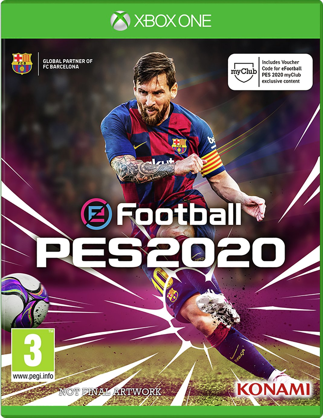 PES 2020: Pro Evolution Soccer Xbox One Pre-Order Game