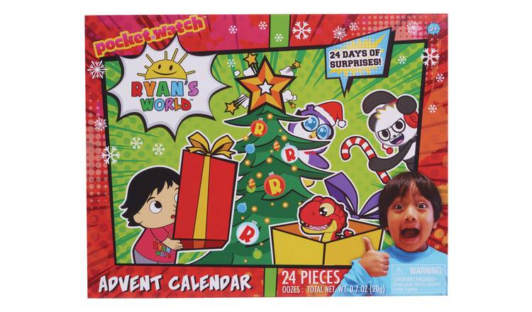 Ryan's World Pizza Advent Calendar