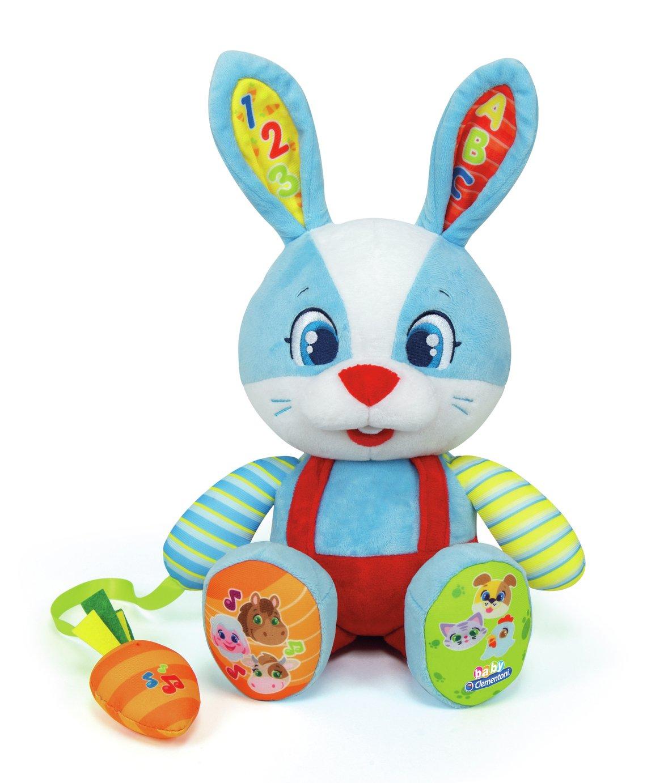 Baby Clementoni Interactive Rabbit Soft Toy