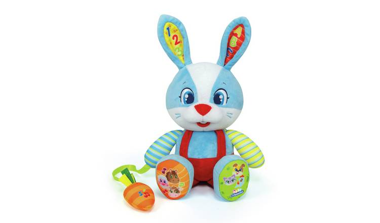 Baby Clementoni Interactive Rabbit Soft Toy