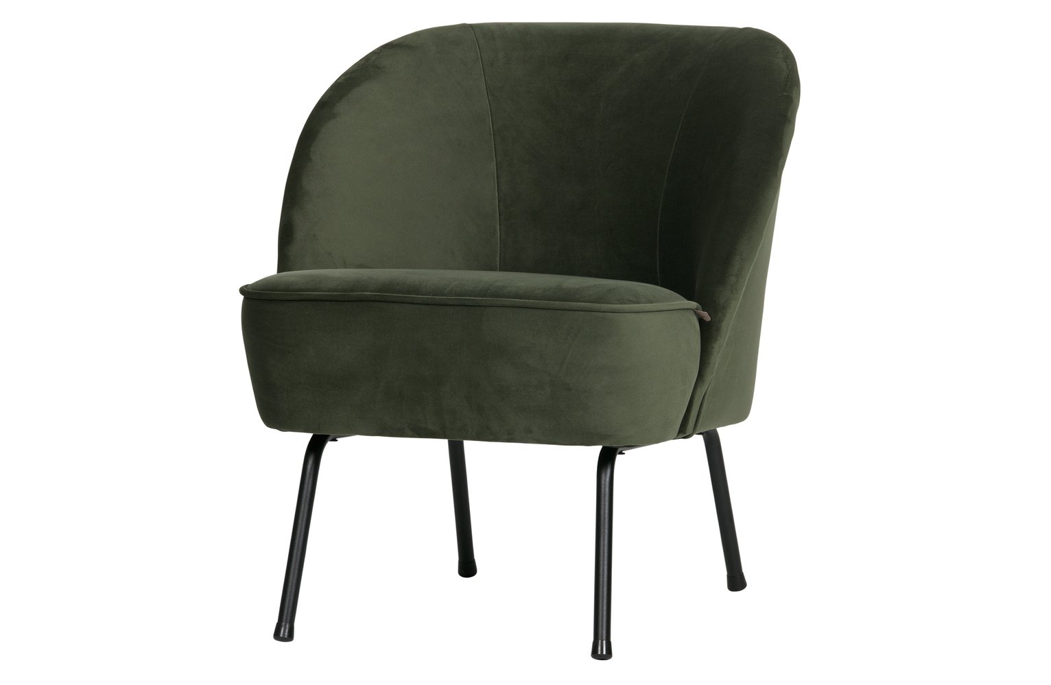BePureHome Vogue Velvet Armchair - Green