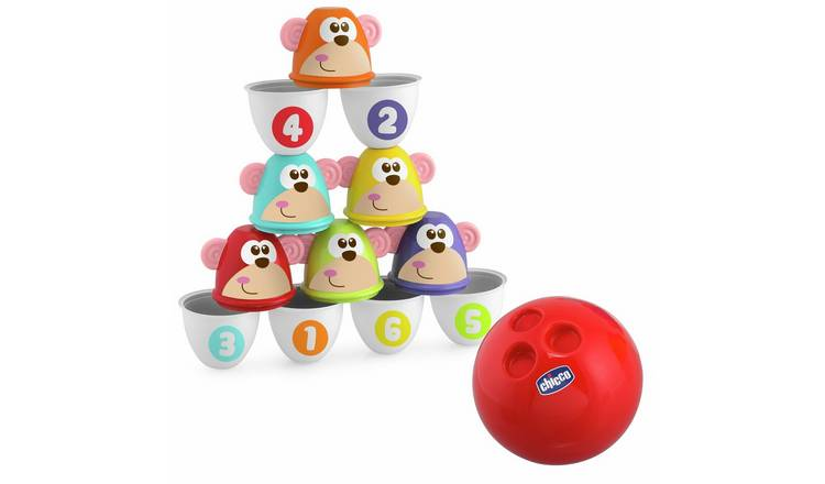 Chicco Monkey Strike Bowling Monkeys